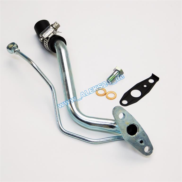 lleitung turboleitung inkl zubeh r turbolader smart 450. Black Bedroom Furniture Sets. Home Design Ideas