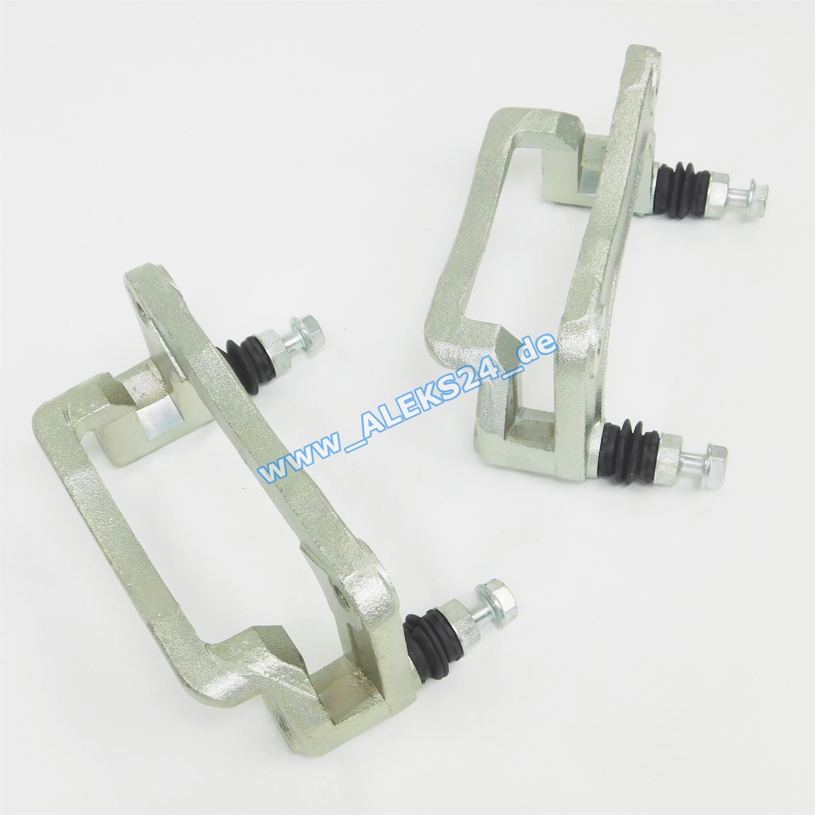 R  Hyundai Santa Fe II CM 2x Sattelhalter Bremssattelträger Hinterachse L