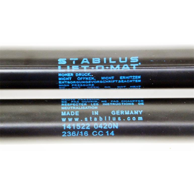 STABILUS Gasfeder Koffer-//Laderaum ////  LIFT-O-MAT®  Hinten für