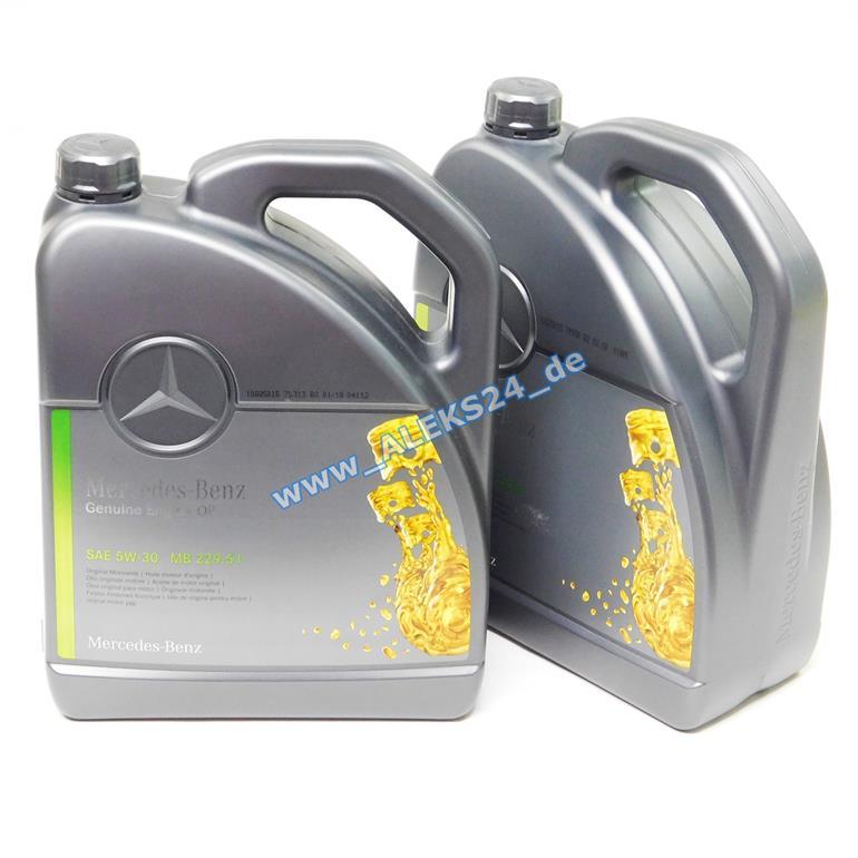 10l orig mercedes synthetic motor l lservice 5w30 mb 229. Black Bedroom Furniture Sets. Home Design Ideas